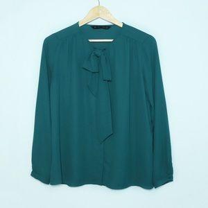 💟 ZARA Long Sleeved Blouse